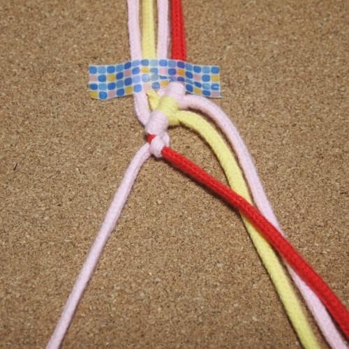 巻き結び 編み方 作り方 ブレスレット